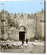 Jerusalem: Damascus Gate Acrylic Print