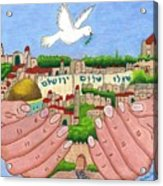 Jerusalem Image Acrylic Print