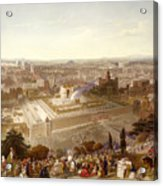 Jerusalem In Her Grandeur Acrylic Print by Henry Courtney Selous