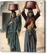 Jerusalem: Milk Seller Acrylic Print