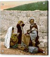 Jerusalem Shoemaker, C1900 Acrylic Print
