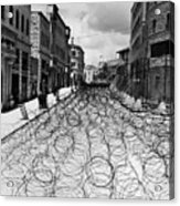 Jerusalem: Street, 1948 Acrylic Print