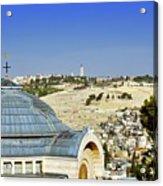 Jerusalem View Acrylic Print