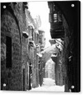 Jerusalem: Winter Acrylic Print