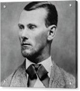 Jesse James -- American Outlaw Acrylic Print