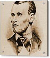 Jesse James Acrylic Print