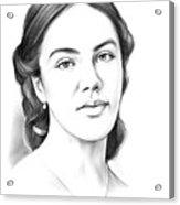Jessica Findlay Acrylic Print