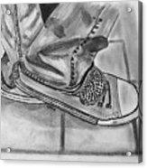Jessicas Sneakers Acrylic Print