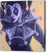 Jester Girl #1 Acrylic Print