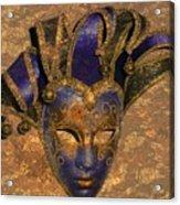 Jester's Mask Acrylic Print