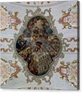 Jesuitenkirche -- Lucerne Jesuit Church Acrylic Print