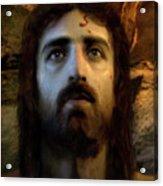 Jesus Alive Again Acrylic Print