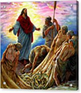 Jesus Appears To The Fishermen Acrylic Print