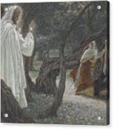 Jesus Appears To The Holy Women Acrylic Print