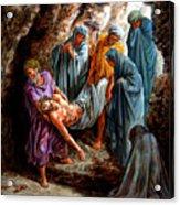 Jesus Burial Acrylic Print