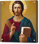 Jesus Christ Pantocrator Acrylic Print