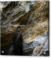 Jesus Christ- You Are My Hiding Place And My Shield Acrylic Print