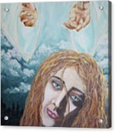 Jesus Close To The Broken Hearted Acrylic Print