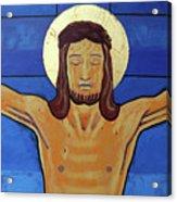Jesus Dies On The Cross Acrylic Print