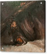 Jesus Falls The Second Time Acrylic Print