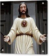 Jesus Figure Acrylic Print