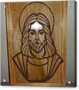 Jesus Frame Acrylic Print