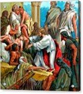 Jesus Healing The Sick Acrylic Print