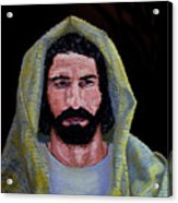 Jesus In Contemplation Acrylic Print