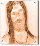 Jesus In The Light Acrylic Print
