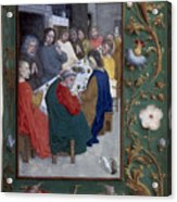 Jesus: Last Supper Acrylic Print