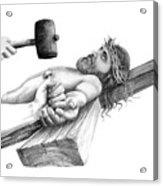 Jesus Acrylic Print