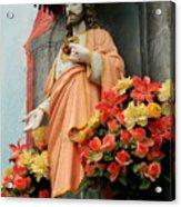 Jesus On Burano Acrylic Print