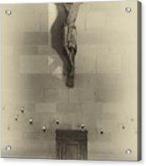 Jesus On The Cross Chapel Icon Acrylic Print