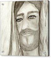 Jesus Acrylic Print by Sonya Chalmers