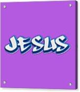 Jesus Tee Acrylic Print