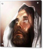 Jesus Wept Acrylic Print
