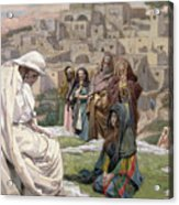 Jesus Wept Acrylic Print by Tissot