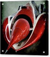 Jet Car Acrylic Print
