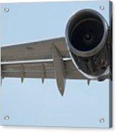 Jet Engine Detail Acrylic Print
