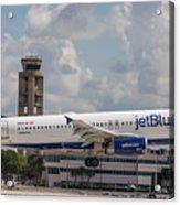 Jetblue Fll Acrylic Print
