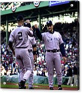 Jeter And Torre Acrylic Print