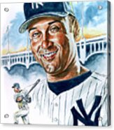 Jeter Acrylic Print by Tom Hedderich