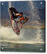 Jetski Flip Acrylic Print