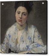 Jeune Femme Acrylic Print