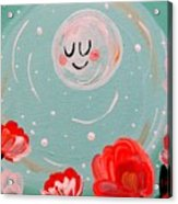Jewel Moon Acrylic Print