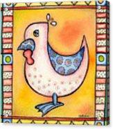 Jewel Rooster 1 Acrylic Print
