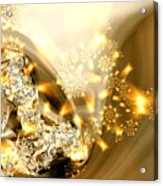 Jewels And Satin Acrylic Print