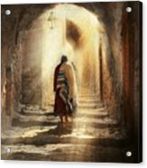 Jewish - Evening Prayers 1934 Acrylic Print