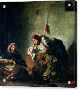 Jewish Musicians In Mogador Acrylic Print