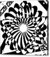 Jewish Pride Maze  Acrylic Print